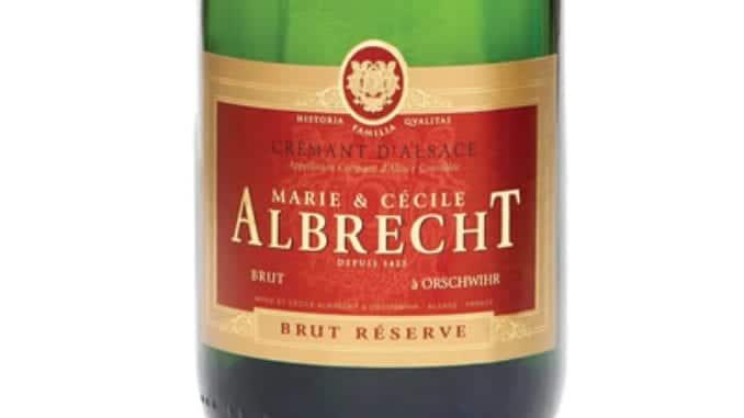 Crémant d'Alsace Brut Rosé. NV